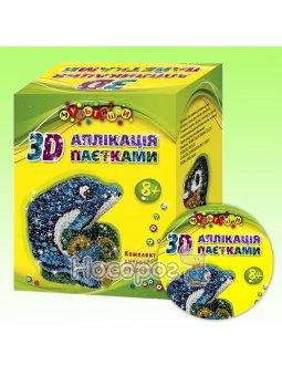 Аппликация пайетками Мультяшки 7661 Дельфин