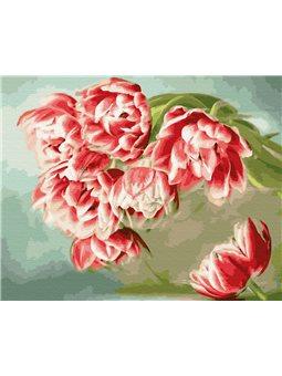 Картина по номерам Brushme Розовые тюльпаны [GX33221]