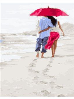 Картина по номерам Brushme Романтика на пляже [GX23590]