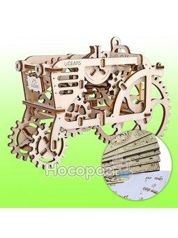 Механические 3Д пазлы Трактор Ukrainian Gears 70003