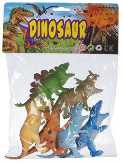 Набор игровых фигурок Dingua набор Динозавры 6 шт, в ассортименте