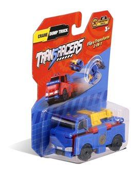 Машинка 2-в-1 Кран & Самосвал TransRacers