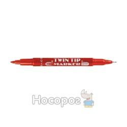 Маркер 1111-1121 CD двусторонний красный