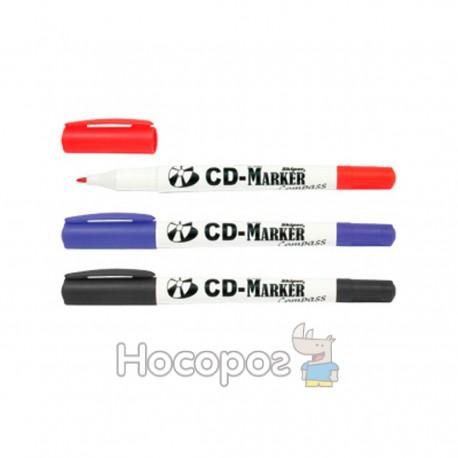 Маркер для CD SKIPER COMPASS SK-2283 двусторонний