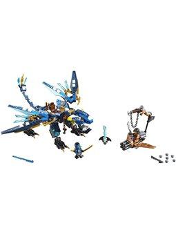 """Конструктор LEGO """"Дракон стихій Джея"""" 70602"""