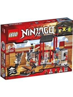 """Конструктор LEGO """"Втеча з вязниці"""" Криптаріум 70591"""