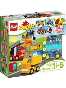 """Конструктор LEGO """"Мої перші машини та вантажівки"""" 10816"""