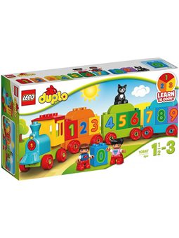 """Конструктор LEGO """"Поезд с цифрами"""" 10847"""
