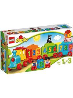 "Конструктор LEGO ""Потяг із цифрами"" 10847"