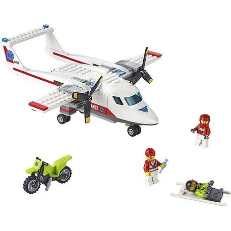"""Фото Конструктор LEGO """"Самолет скорой помощи"""""""