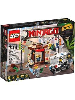 Конструктор LEGO NINJAGO® Погоня містом 70607