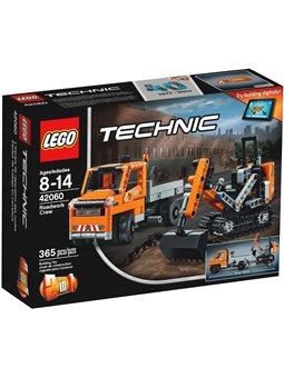 """Конструктор LEGO """"Бригада службы дорожных работ"""" 42060"""