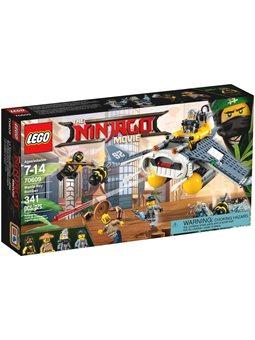 Конструктор LEGO Бомбардувальник «Морський диявол» 70609