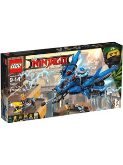 Конструктор LEGO Винищувач-блискавка 70614