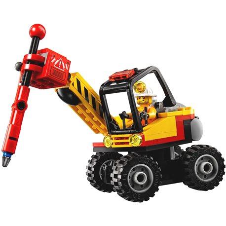 Фото Конструктор LEGO City Мощный горный разделитель 60185