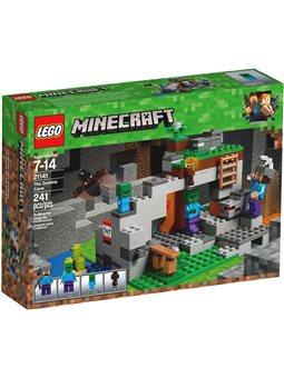 Конструктор LEGO Minecraft Пещера зомби 21141