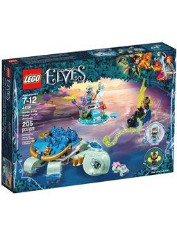 Конструктор LEGO Elves Наида и ловушка на морскую черепаху 41191