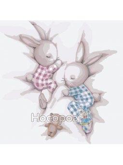 Картина по номерам Сладкие сны 2 КНО2335