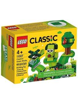"""Конструктор LEGO® """"Зеленые кубики для творсчости"""" 11007 Classic"""
