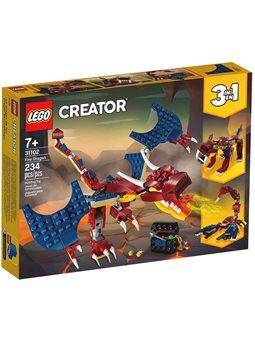 """Конструктор LEGO® """"Огненный дракон"""" 31102 Creator"""