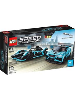 "Конструктор LEGO® ""Автомобили Formula E Panasonic Jaguar Racing GEN2 и Jaguar I-PACE e TROPHY"" 76898 Speed ​​Champions"