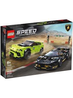 """Конструктор LEGO® """"Автомобили Lamborghini Urus ST-X и Lamborghini Huracan Super Trofeo EVO"""" 76899 Speed Champions"""
