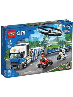 """Конструктор LEGO® """"Перевозка полицейского вертолета"""" 60244 City"""