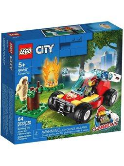 """Конструктор LEGO® """"Пожар в лесу"""" 60247 City"""