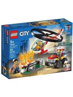 """Конструктор LEGO® """"Пожарный отряд на вертолете"""" 60248 City"""