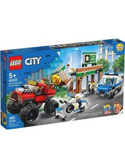 """Конструктор LEGO® """"Ограбление с полицейским грузовиком-монстром"""" 60245 City"""