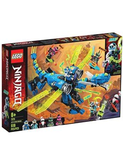 "Конструктор LEGO® ""Кибердракон Джея"" 71711 Ninjago"
