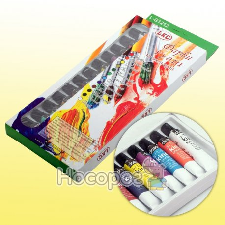 Краски Bertand/LKC G1212 Гуаш 12 туб