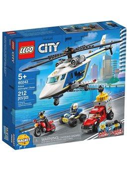 LEGO® City Поліція · Погоня на поліцейському гелікоптері · 60243