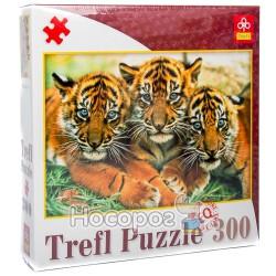 """87000 Пазл """"300 ел."""" - Три тигрёнка/ Фото"""