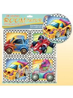 Наклейка інтер'єрна для дитячої кімнати Транспорт RDS-506