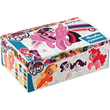 Фото Гуашь Kite Little Pony, 6 цветов LP19-062