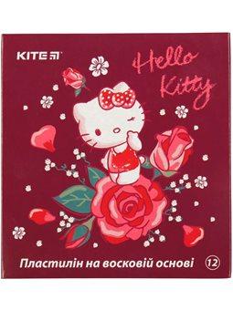 Пластилин восковой Kite Hello Kitty HK19-1086, 12 цветов, 240 г