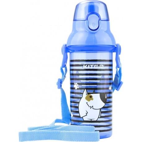 Бутылочка для воды Kite K18-403-04, 470 мл, голубая