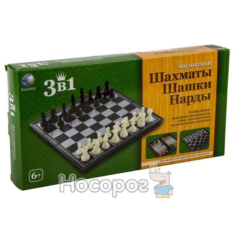 Фото Игра настольная В 236781 R Шахматы, нарды