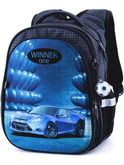 Рюкзак для школи Winner One R1-006 + брелок м'ячик
