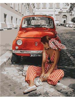 Картины по номерам - Лето в Монако (КНО4715)