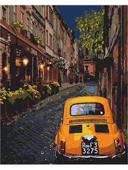 Картины по номерам - Городской уют (КНО3576)