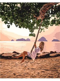 Картины по номерам - Воздушный рай (КНО4716)