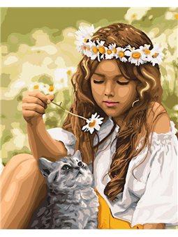 Картины по номерам - Наедине с природой (КНО4706)