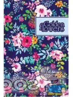 """Блокнот TM Profiplan """"Golden Flowers"""" violet, A5"""