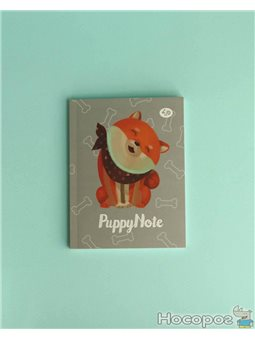 "Блокнот TM Profiplan ""Puppy Note"", grey A6 mini"