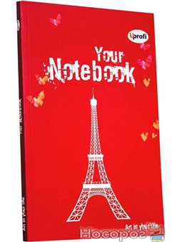 Творческий блокнот Artbook А5, red