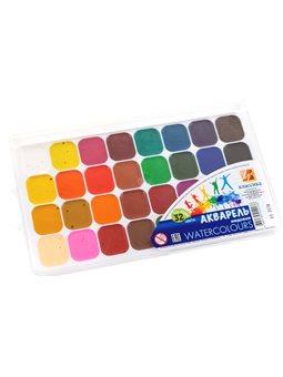 Краски акварельные Луч Классика 32 цвета (4601185012176)