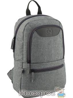 Рюкзак для города GoPack Сity унисекс 320 г 37 х 24 х 9 см 10 л Серый (GO20-119S-1)