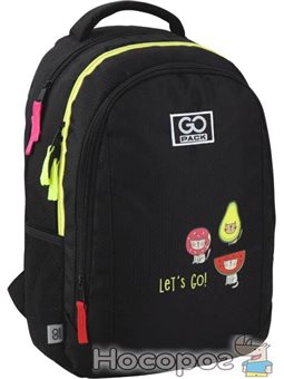 Рюкзак шкільний GoPack Education для дівчаток 475 г 43x30x16 21 л Bright cats (GO20-133M-1)